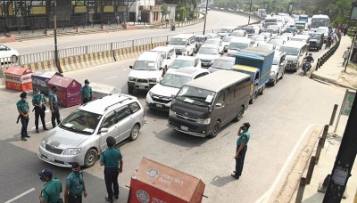 Public gather in lanes, more cars on roads