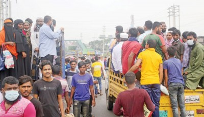 Curbs in 7 dists around Dhaka largely ignored