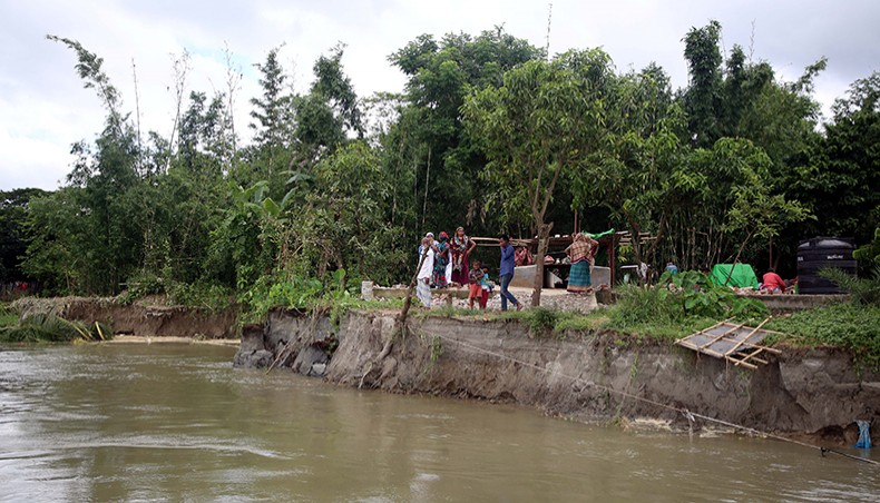 Many Ashrayan villages lost to river erosion