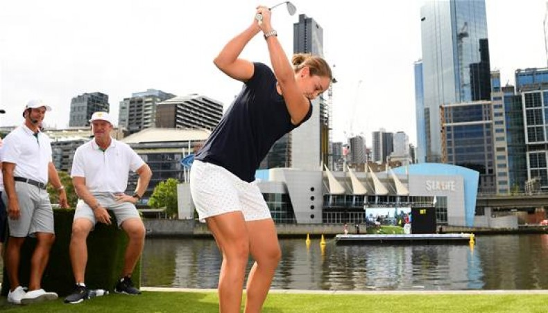 Gulftimes : Tennis ace Barty scores in golf