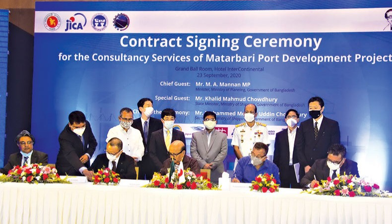 Deals signed with Japanese firms on Matarbari Port dev project
