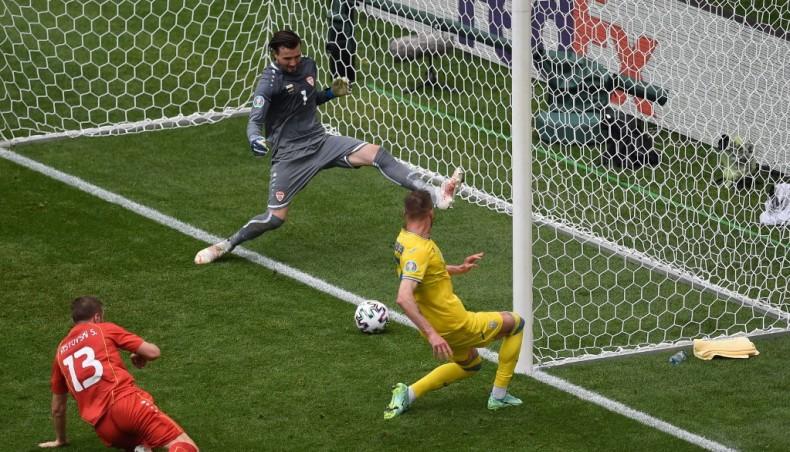 Yarmolenko guides Ukraine to nervy win over N Macedonia